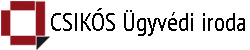 Csikós Ügyvédi Iroda Logo